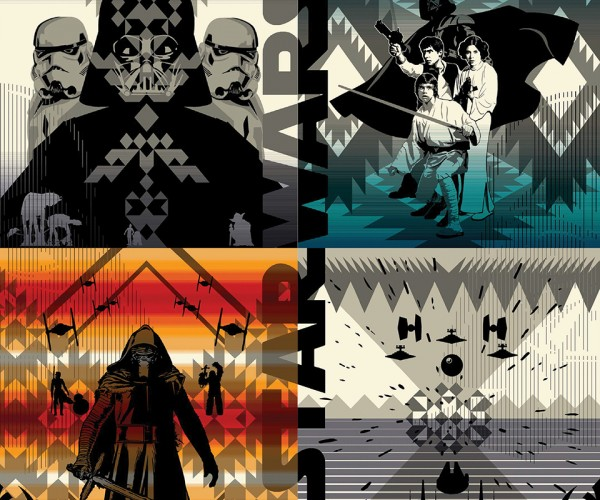 Pendleton Star Wars Blankets: Forcelandia