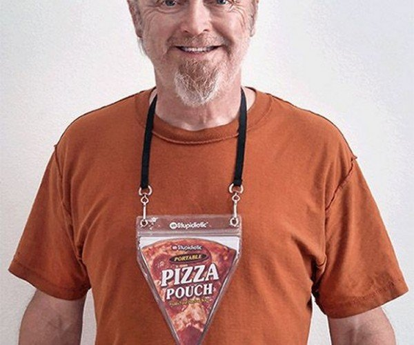 Portable Pizza Pouch: Tomato Tie
