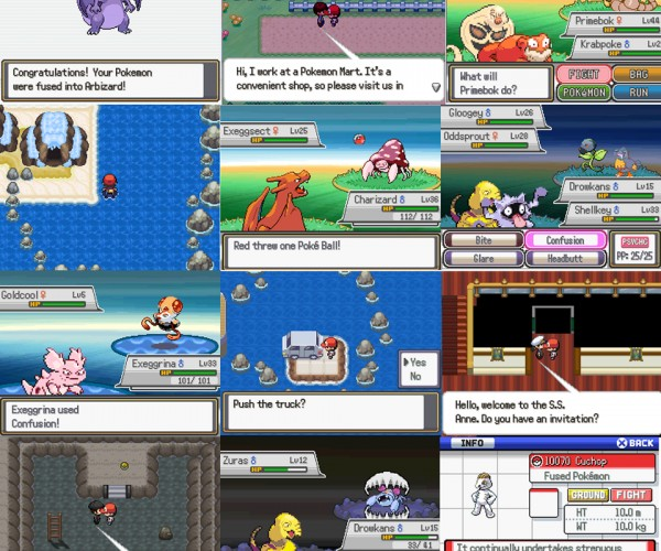 Pokémon Fusion Used as Basis for Fan-game: Hello Drowkans My Old Friend…