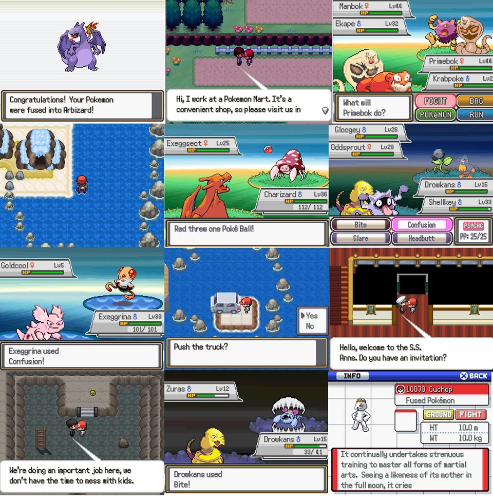 pokémon fusion used as basis for fan game hello drowkans my old