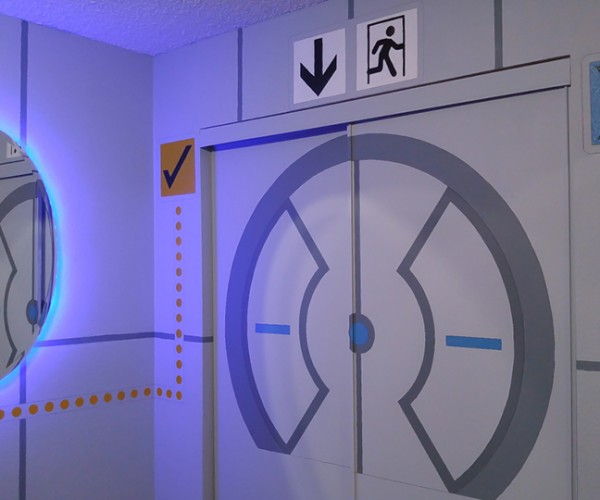 Parents Give Son's Bedroom a Portal Makeover: You'll Always Be Test Subject #1