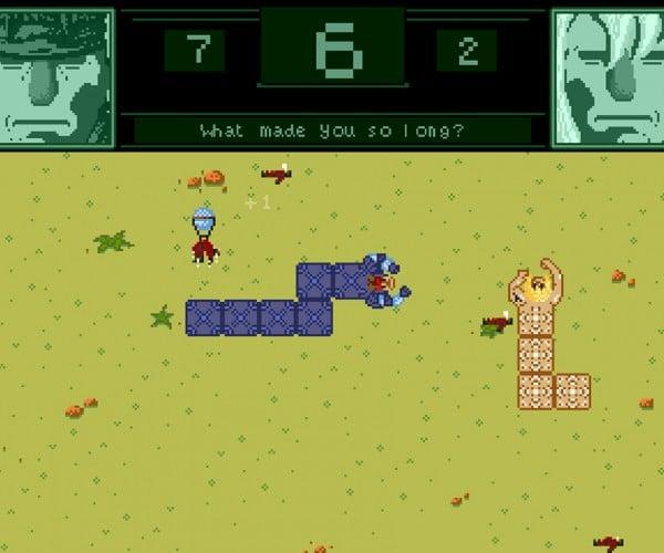 Snake with Solid Snake & Liquid Snake: Snake? Snake!
