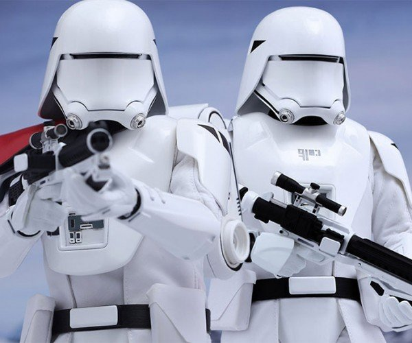 Star Wars First Order Snowtroopers Action Figures