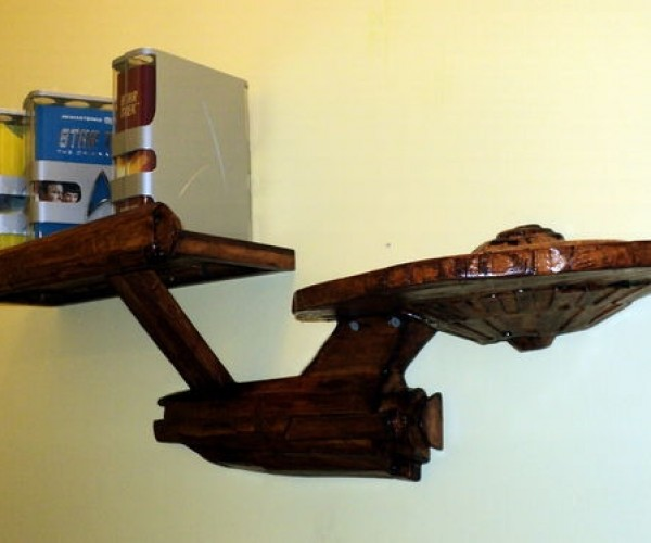 Star Trek Enterprise Shelf: Wall Factor 10