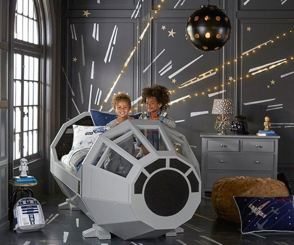 Pottery Barn Millennium Falcon Cockpit Bed: The Priciest Hunk of Junk in the Galaxy