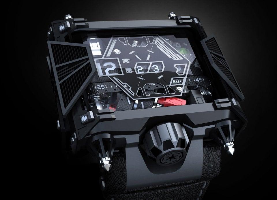 the 28 500 star wars watch technabob. Black Bedroom Furniture Sets. Home Design Ideas
