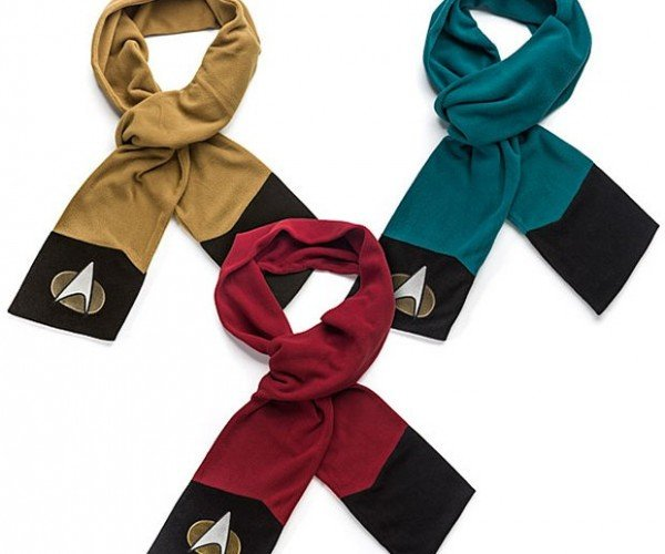 Star Trek: TNG Scarves: Where No Scarf Has Gone Before