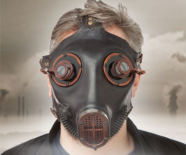 Steampunk Gas Mask Looks Like Fallout, but Won\