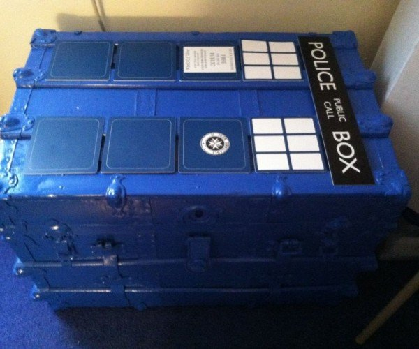 The TARDIS Trunk: More Storage on the Inside