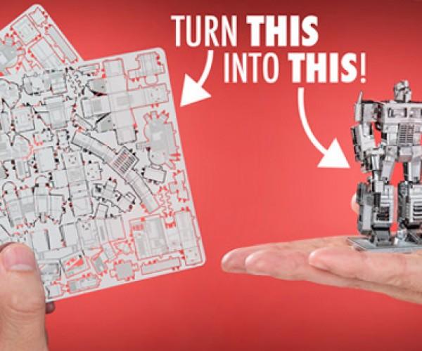 Transformers Metal Earth Model Kits: Ikeacons