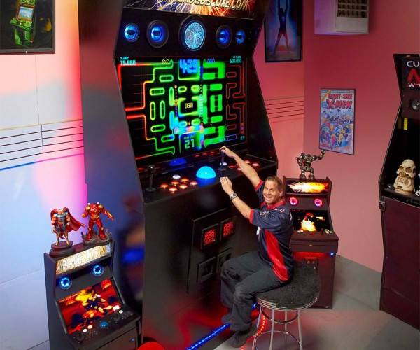 World's Largest Working Arcade Cabinet Makes You Feel Like a Little Kid Again