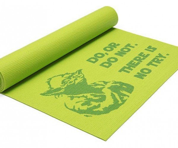 Star Wars Yoda Yoga Mat: Downward Facing Dog, or Dog Not