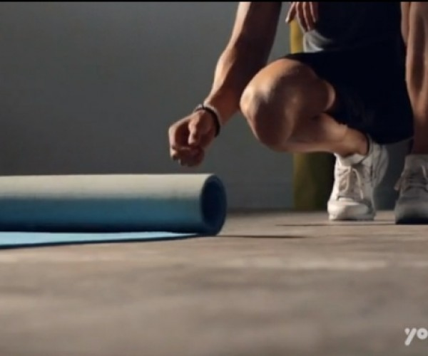 Self-rolling Yoga Mat: Now There's No Excuse Not to Do It