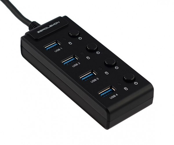 Deal: Save 25% on the ZeroLemon 4-Port USB Hub