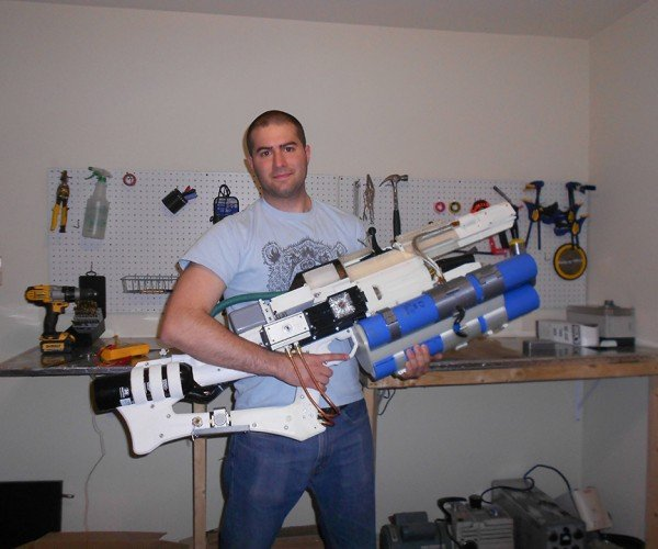 DIY 3D Printed Portable Hybrid Railgun: Harder to Obtain than Sleeper Simulant