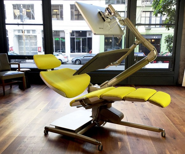 Altwork Station Desk & Chair Lets You Sit, Stand and Lie Down While Working: The Costanza