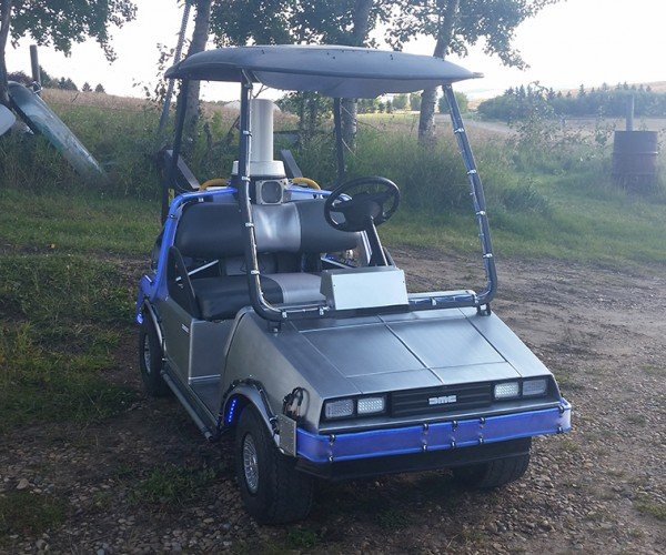 Back to the Future DeLorean Golf Cart: 8.8 Holes per Hour