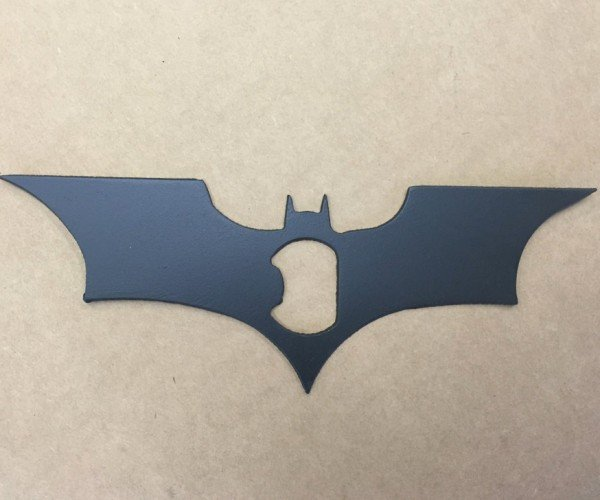 Batman Batarang Bottle Opener for Bat Beer