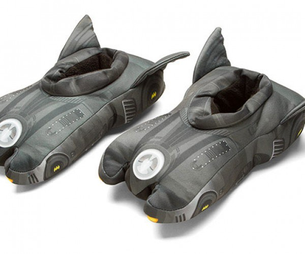 Batmobile Slippers Geek Up Your Mornings