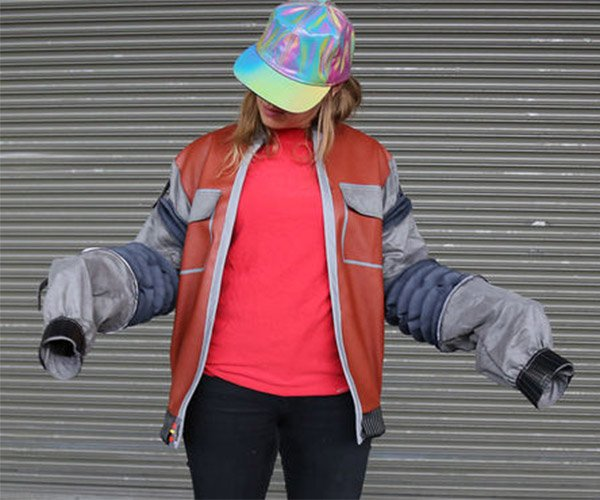 Back to the Future II: DIY Auto Adjusting Jacket