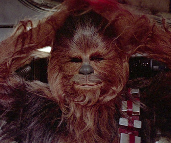 Chewbacca Toilet Paper Dispenser Takes Sh*t from Nobody