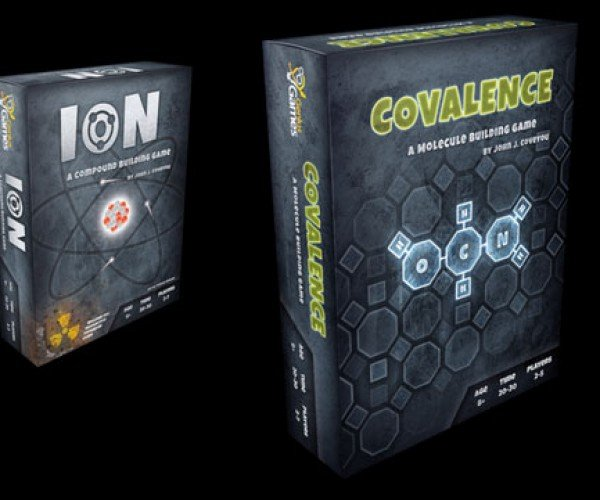Covalence Board Game Lets Chemistry Nerds Dominate