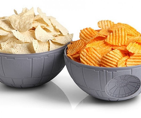 Death Star Chip & Dip Bowls: That's No Serving Piece!