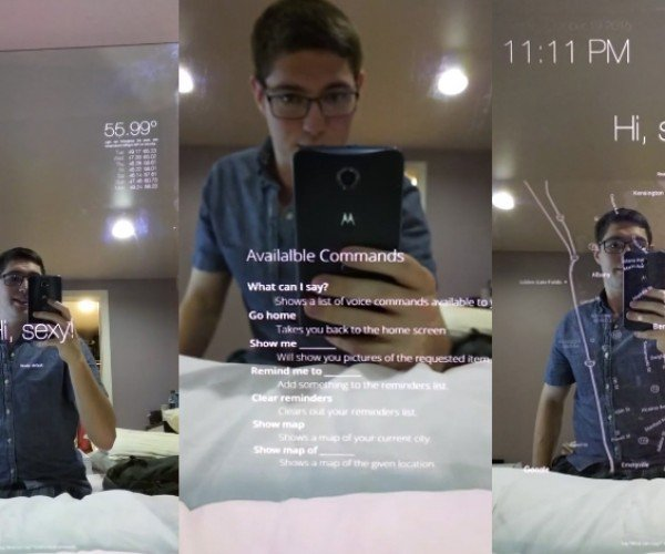 DIY Raspberry Pi Voice-activated Smart Mirror: Who's the Makest of Them All?