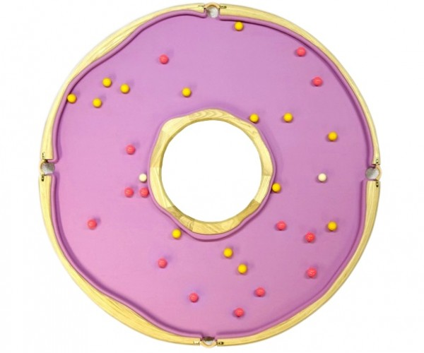Donut-shaped Pool Table: Bakery Billiards