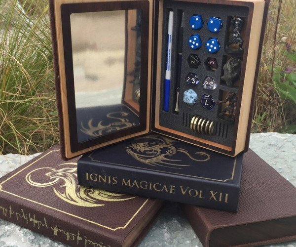 Elderwood Spellbook Gaming Boxes Are Flying off Kickstarter's Shelves