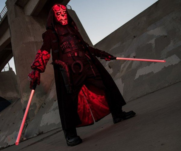 Hellboy and Darth Maul Cosplay Mashup: Sithboy