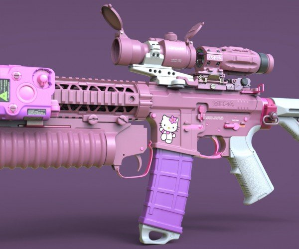 Hello Kitty Call of Duty Rifle: Killo Kitty
