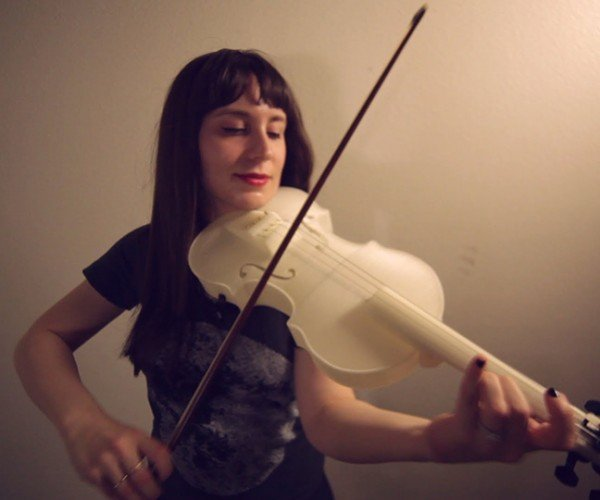 Hovalin 3D Printed Acoustic Violin: Filament Section