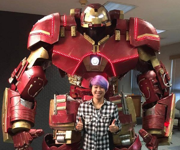 Hulkbuster Costume is Ready to Take on a Hulk Cosplayer