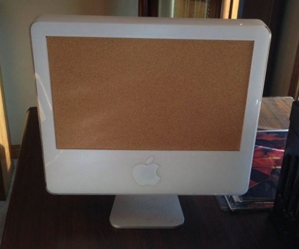 iMac Turned into Most Expensive Corkboard Ever