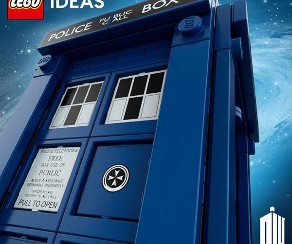Official LEGO Doctor Who TARDIS Set Coming Soon