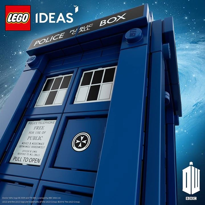 First Look At Doctor Who LEGO Set