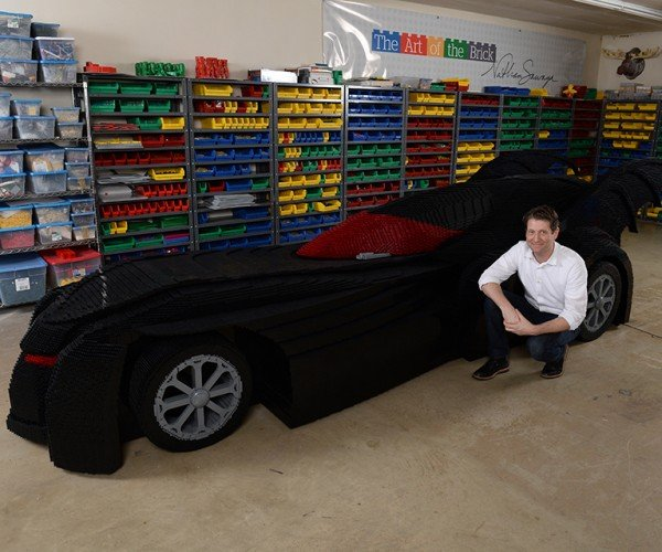 World's Largest LEGO Batmobile: Holy Butt Studs Batman!
