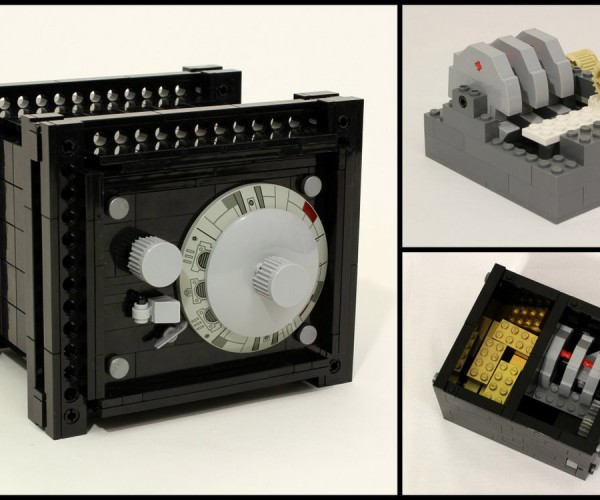Fully Functional LEGO Safe Protects Your Bricks