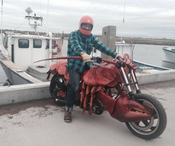 Lobster Motorcycle: Born to be Prawn