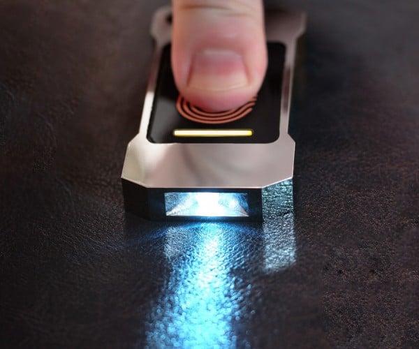 Lumen Heat-Powered Flashlight: Human-powered Torch