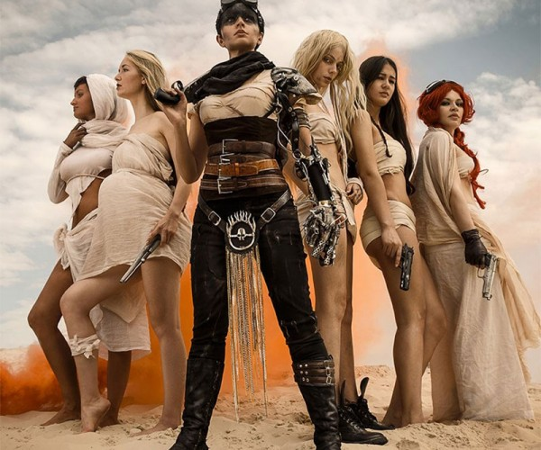 The Women of Mad Max Fury Road Cosplay