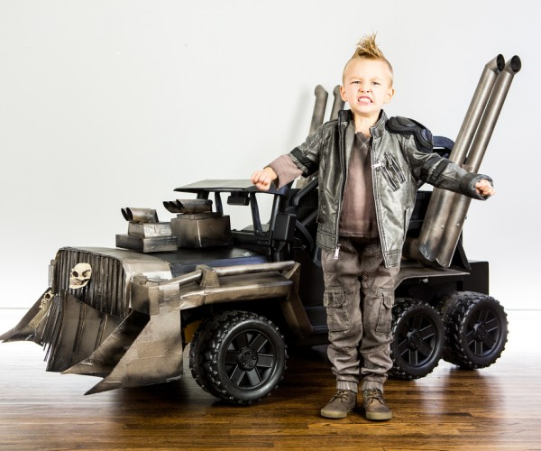 DIY Mad Max Power Wheels War Rig: Fuwy Woad