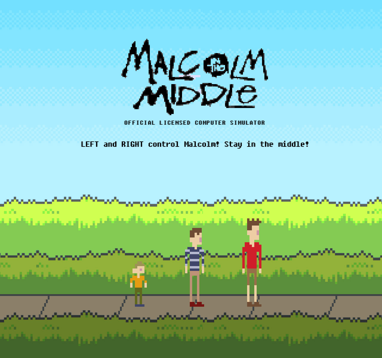 malcolm in the middle game 1 - Malcolm In The Middle Gets His Own Video Game