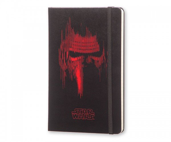 Star Wars VII Kylo Ren Moleskine Notebook is Perfect for Imperial Musings