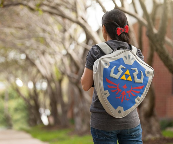 Nintendo Link's Shield Backpack: Hylian High