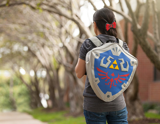 21b170cbdf06 ... licensed Legend of Zelda bag is for you. It has a 15″x 17″ main  compartment