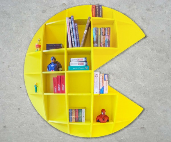 Pac-Man Bookshelf: Wokka Wokka Booka