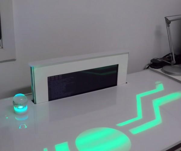 Futuristic Raspberry Pi Desk Computer: PiDesk