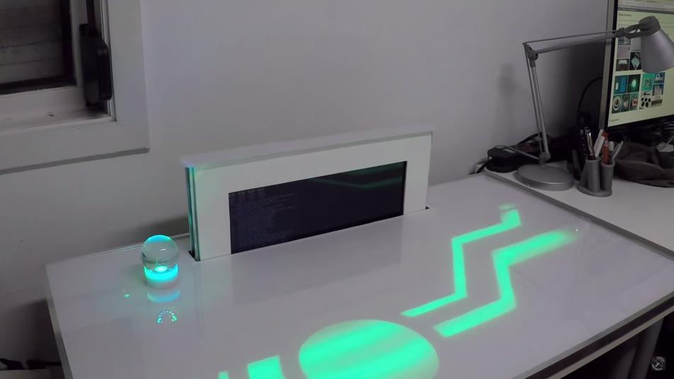futuristic raspberry pi desk computer pidesk technabob